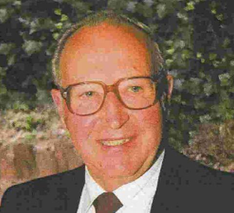 FATAL TUMBLE: Charles Hurst, 87, above, fell over block paving in Poole High Street