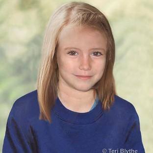 An age progression image of missing Madeleine McCann (Teri Blythe/Metropolitan Police/PA Wire)