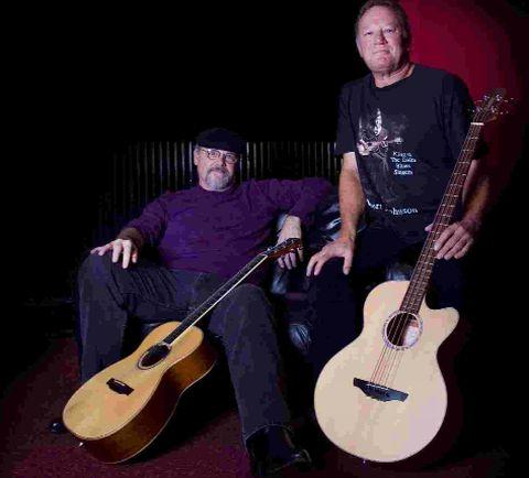 DYNAMIC DUO: Bill Sheffield and Dave Saunders are at the Dorchester Arts Centre tomorrow night