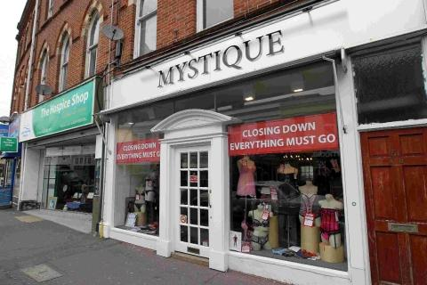 Seamoor Road in Westbourne, where traders are up in arms over plans to turn Mystique into a Dominos pizza shop