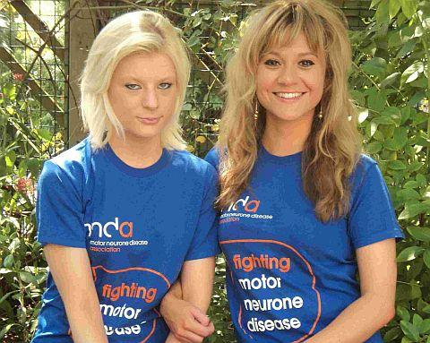 April-Grace Ashworth, left, and Sarah Simmons, Poole Hospital nurses who are doing a charity skydive