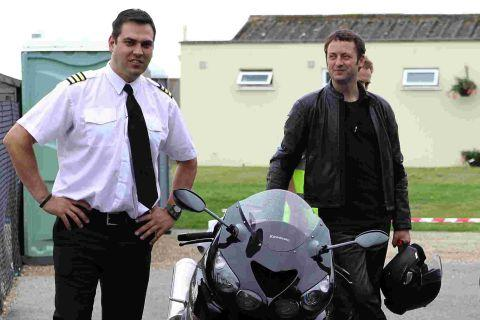 Dan Penteado with his Rogue Traders co-star Matt Allwright