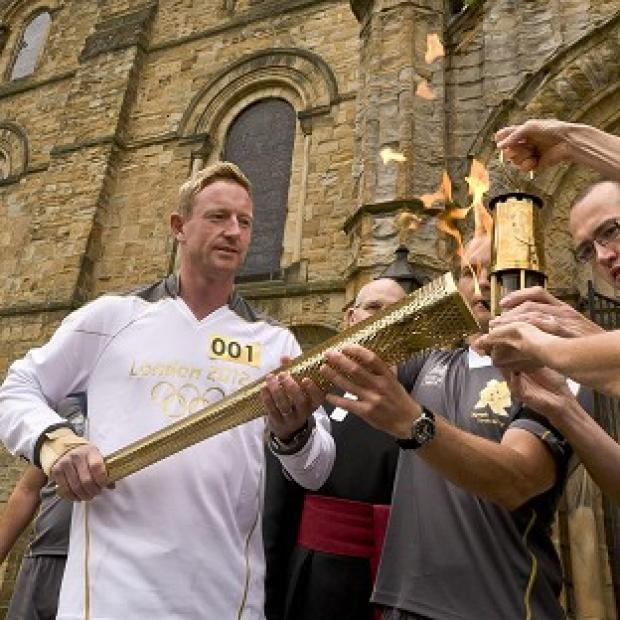 The Olympic Torch is coming to Sutton on July 23