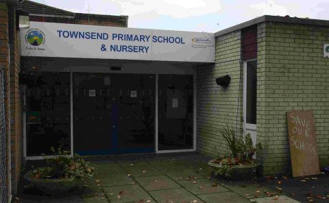 ALL CHANGE: Townsend Primary School, which is being reopened as the Jewel Academy to cater for increasing demand