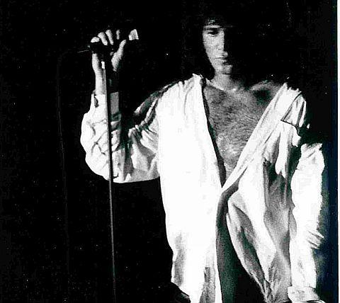 MOJO RISING: Ed Coloracci as Jim Morrison in Break On through at Finn's in Weymouth next Friday