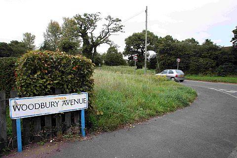 CAMPAIGN: Residents are calling for land near Woodbury Avenue and Throop Road in Bournemouth to be removed from a list of possible travellers' sites