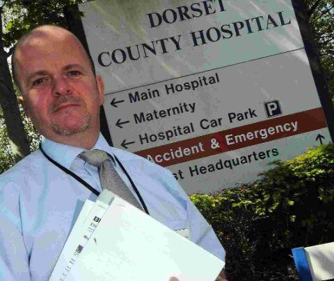 UNFAIR: DCH employee and Unite member Martin Shepherd plans to ask the Trust to remove itself from the Pay Consortium