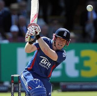 Eoin Morgan scored an unbeaten 89 in the first ODI against Australia