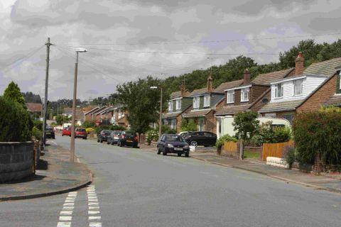 FEARS: Allens Road in Hamworthy where cats have died