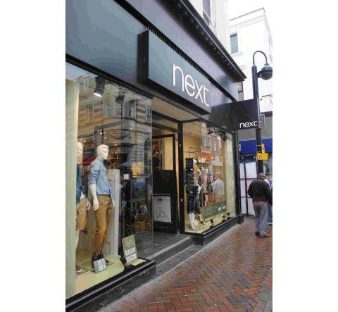 The Next store in St Mary Street, Weymouth