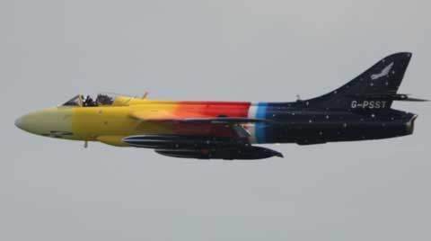 Miss Demeanour. Bournemouth Air Festival 2012. Picture: Corin Messer,