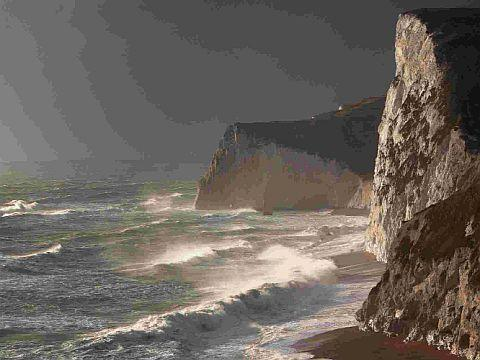 DRAMATIC: Bat's Head on the Jurassic Coast