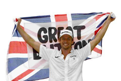 BACKING APPEAL: Jenson Button
