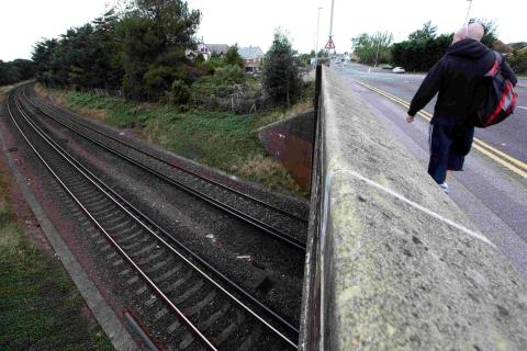 Track tragedy: man electrocuted on Christchurch railway line