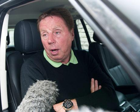 ADVISORY ROLE: Harry Redknapp