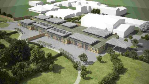 ARTIST'S VIEW: What the new Mountjoy school will look like