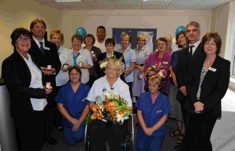 Thanks given to long-serving hospital staff