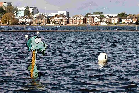 Loch Ness monster found - in Poole Park lake