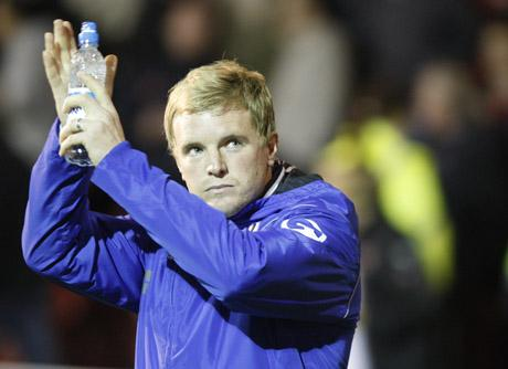 CHERRIES RETURN: Eddie Howe is set to return to Dorset