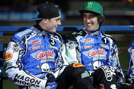 TOP DUO: Darcy Ward and Chris Holder