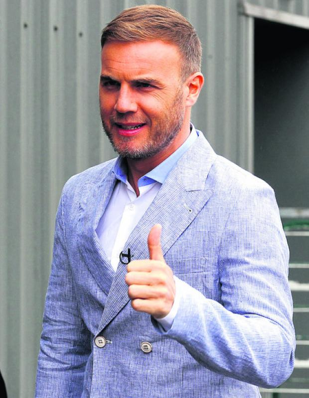 Gary Barlow gig tickets sell out in 45 minutes