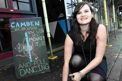 Monkeys and pole-dancing? We were joking, says Poole bar
