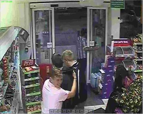 Do you recognise Co-op vandals?