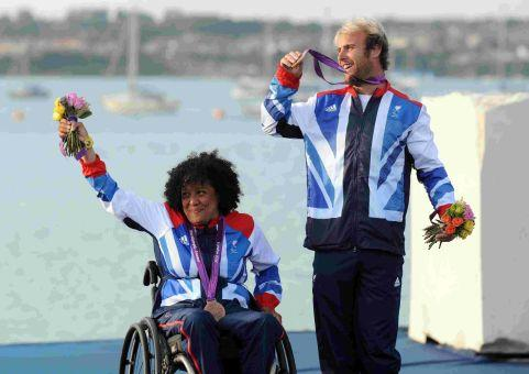OLYMPIC MEMORIES: Alexandra Rickham and Niki Birrell with their bronze medals