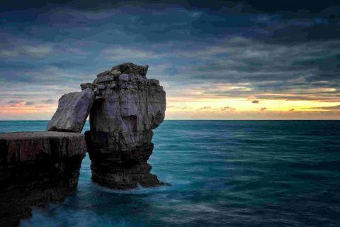 GREAT VIEW: Paul Reiffer's spectacular shot of Pulpit Rock at Portland is just one of the fantastic images in the new book