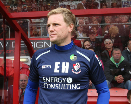 HELD IN HIGH ESTEEM: Cherries boss Eddie Howe