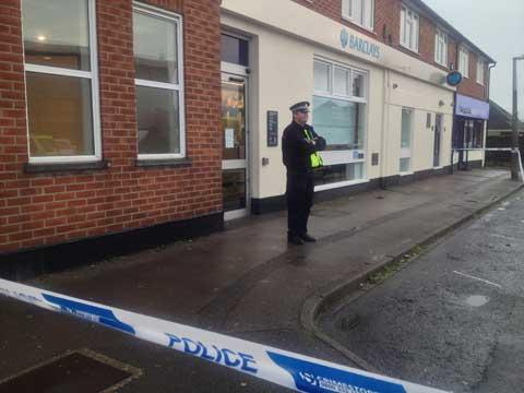 Man freed after Wallisdown Barclays robbery probe