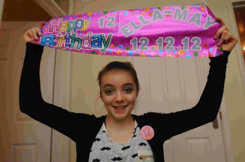 IT'S A DOZEN: Ella-May Cauldwell celebrates her 12th birthday today