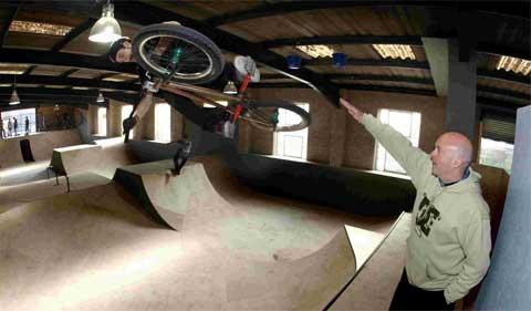 Indoor skate park opens in Poole
