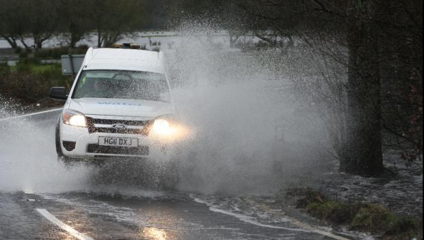 Rain warning for Dorset