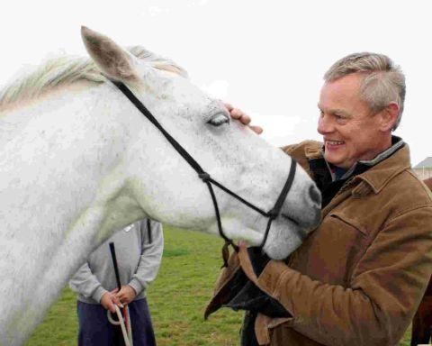 WORTHWHILE: Martin Clunes, patron of the Horse Course charity