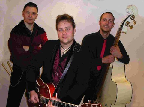COOL CATS: The Setzervillains are at the John Gregory in Weymouth on Saturday night