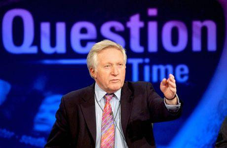 David Dimbleby is coming to Weymouth