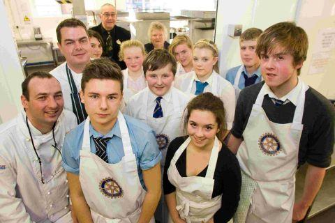 Success on the menu for young chefs