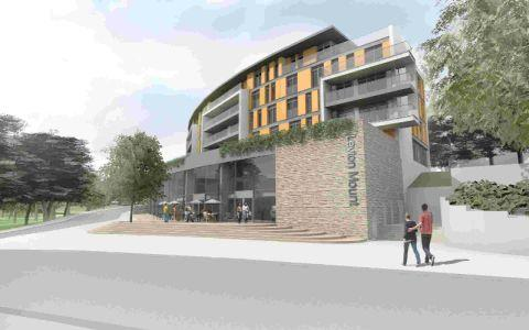 HOW IT COULD LOOK: An artist's impression of a development at Leyton Mount.
