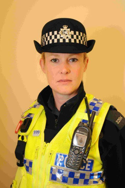 WARNING: PC Kirsti Ball