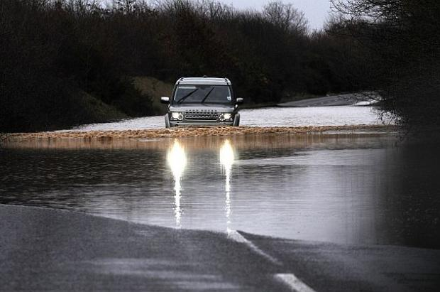 Dorset's roads hit by flooding