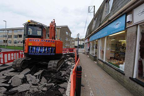 Work under way in West Bay