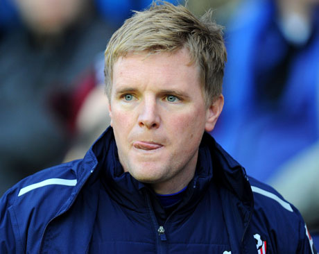 GETTING A TASTE FOR SUCCESS: Cherries boss Eddie Howe