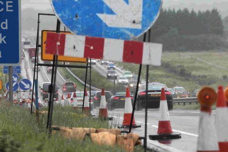 ROADWORKS: The A35 will be closed