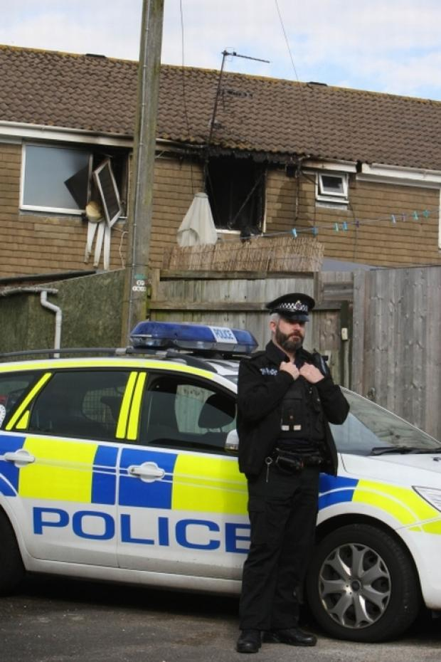 Appeal for witnesses after arson attack