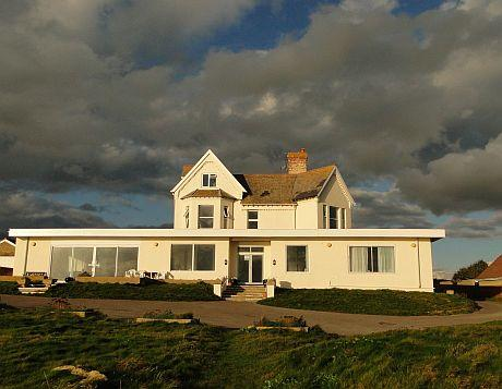 The former Burton Cliff Hotel at Burton Bradstock