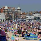 PACKED: Weymouth beach