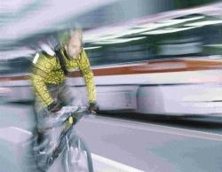 FACING FINES: Dangerous cyclists